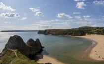 Three Cliffs Bay © City & County of Swansea Visit Swansea Bay / Swansea Council