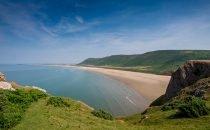 Rhossili Bay © Visit Swansea Bay / Swansea Council