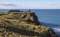 Worm's Head, Rhossili © City & County of Swansea Visit Swansea Bay / Swansea Council