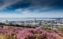 Swansea City Centre © City & County of Swansea Visit Swansea Bay / Swansea Council