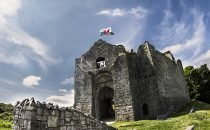 Oystermouth Castle © City & County of Swansea Visit Swansea Bay / Swansea Council